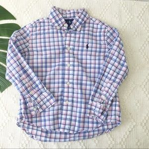 Ralph Lauren Boys' Plaid Button Down Shirt 4